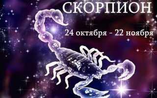 Скорпион: магия талисманов для представителя водной стихии
