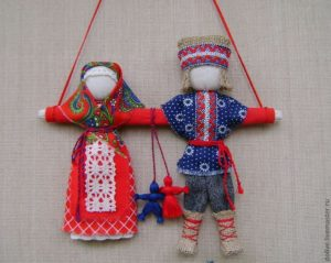 Кукла оберег Неразлучники