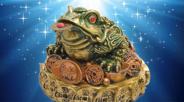 Трехлапая жаба.