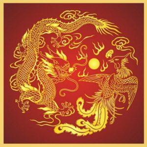 дракон и феникс