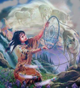 шаманский ловец снов история