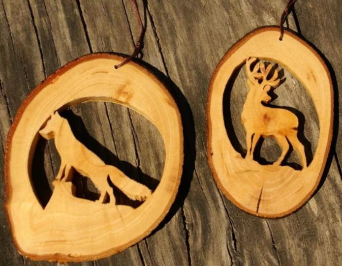 амулет из дерева