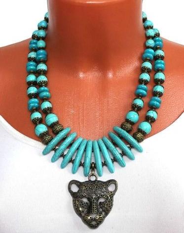 ожерелье из бирюзы