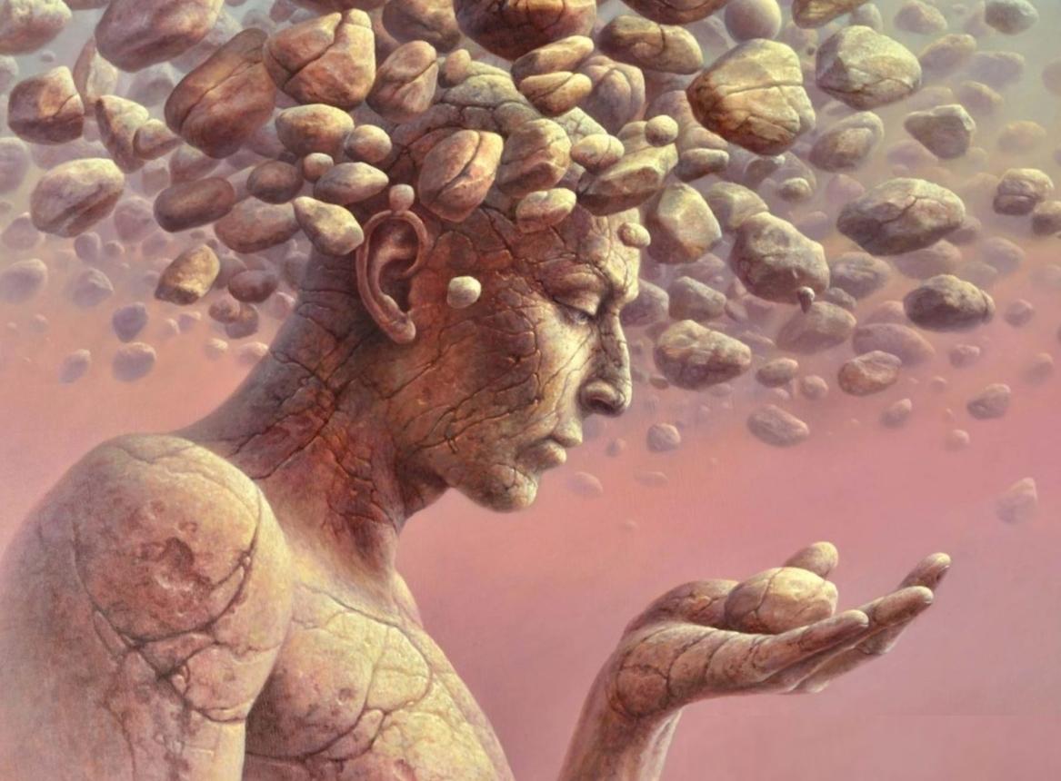 тело и камень