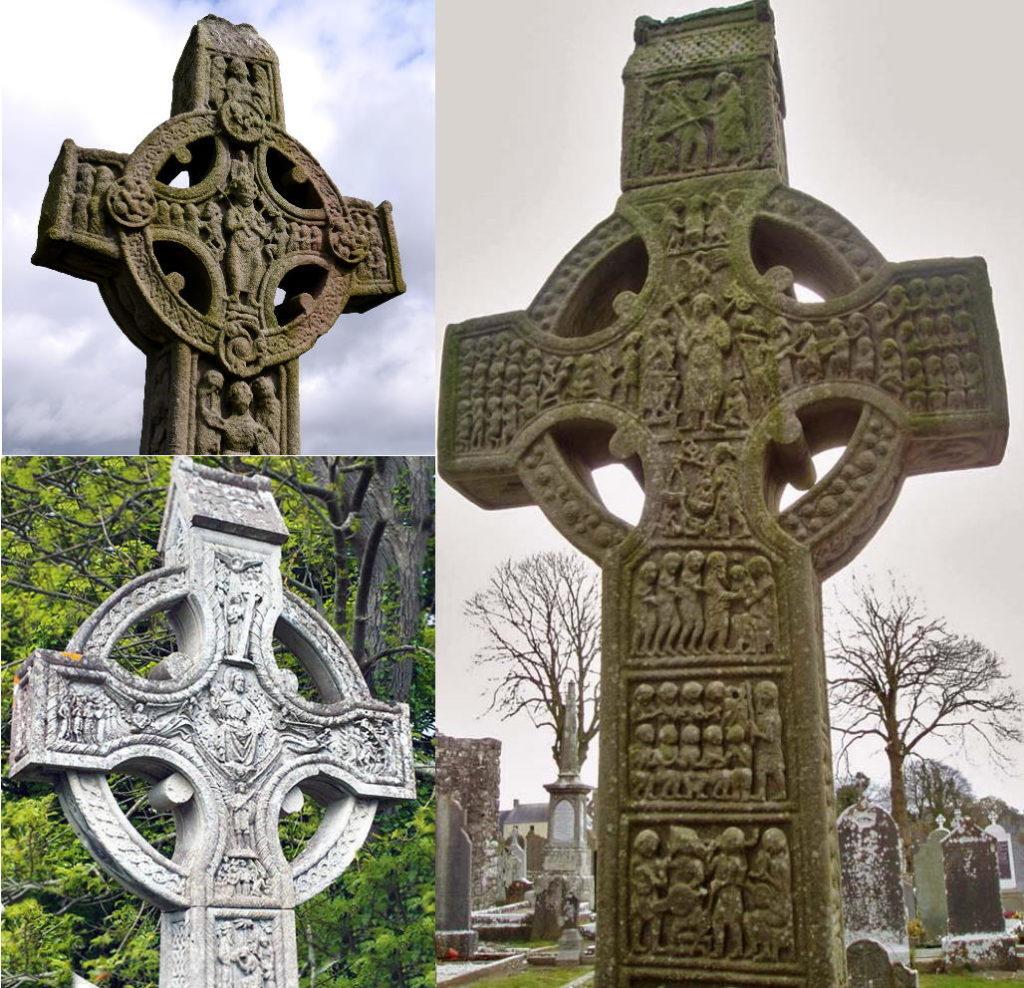 старинные кельтские кресты