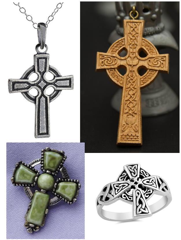 украшения кельтский крест