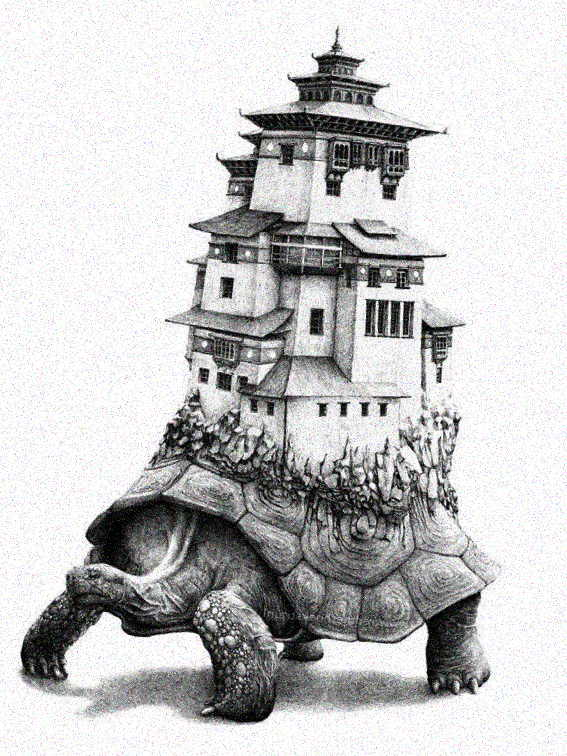 Храм на спине черепахи