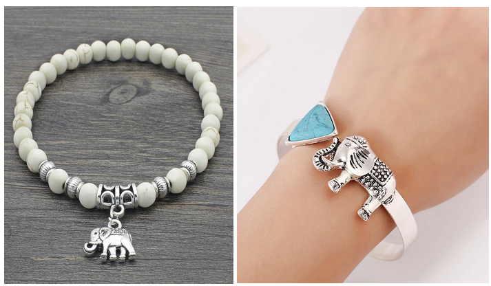 Как носить браслет со слоном