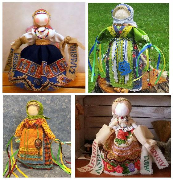 как украсить куклу Желанницу
