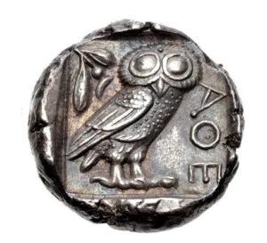 Драхма древняя Греция