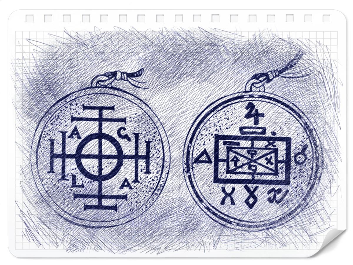 Схема Амулета Колесо Фортуны