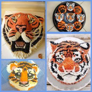 новогодний стол в год тигра