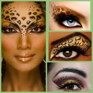 макияж в год тигра